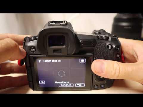 Canon EOS R Firmware 1.4. – Cómo actualizar la cámara, paso a paso