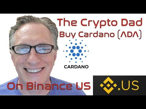 Buy Cardano ADA on Binance US Now directly from your bank account