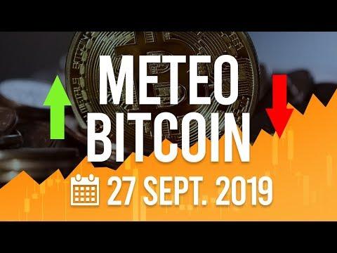 La Météo Bitcoin FR – Vendredi 27 septembre 2019 – Crypto Fanta
