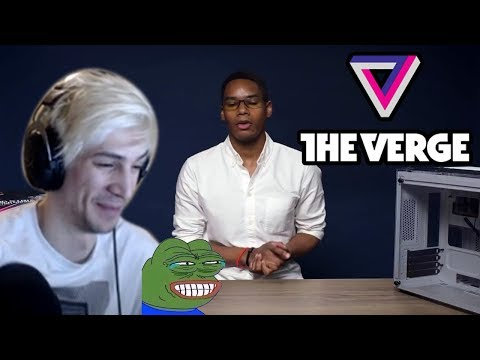 xQc Reacts to How the Verge built a $2000 custom gaming PC