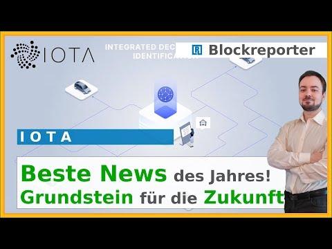 IOTA Marketplace und Chronicals gestartet | Blockreporter deutsch kryptowährung