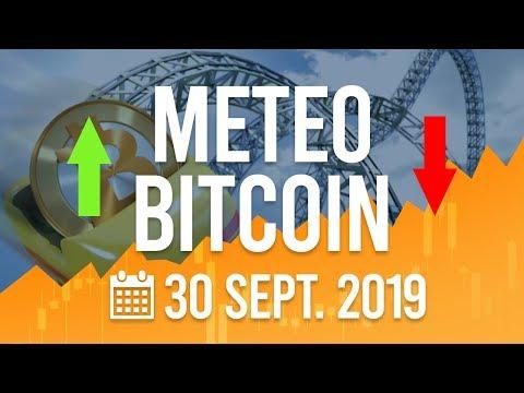 La Météo Bitcoin FR – Lundi 30 septembre 2019 – Crypto Fanta