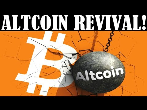 ALTCOIN REVIVAL COMING! – BTC CRITICAL MOVE SOON! – BINANCE DELISTS BTT & PUNDI X! -WILD RIDE AHEAD!