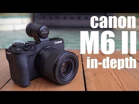 Canon EOS M6 II review: IN-DEPTH vs A6400 vs X-T30