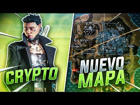 Mi PRIMERA VICTORIA con *CRYPTO* en el *NUEVO MAPA* de la TEMPORADA 3 de APEX LEGENDS! SEASON 3
