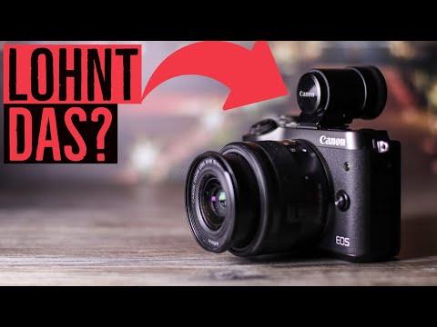 Canon EVF-DC2 für EOS M6 (Mark II) … Lohnt sich das?