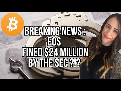 EOS SETTLES FOR $24 MILLION WITH THE SEC – EXCHANGE RANKING – ADA AND NEW BALANCE