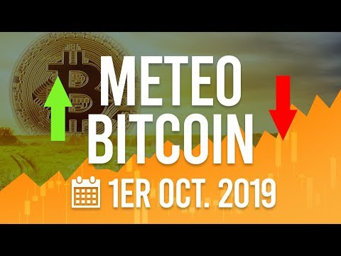 La Météo Bitcoin FR – Mardi 1er octobre 2019 – Crypto Fanta