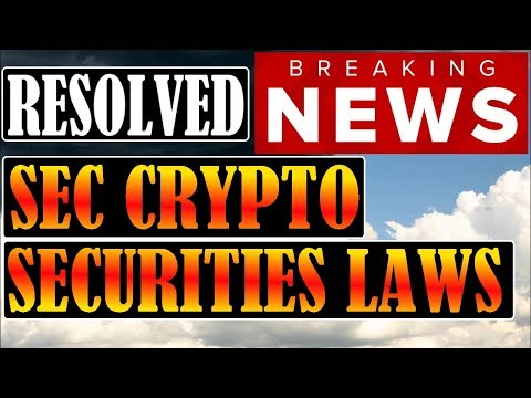 SEC CRYPTO SECURITIES LAW LOOPHOLE! – RIPPLE REBRAND! – THIS HASN'T HAPPENED TO BITCOIN SINCE 2014!