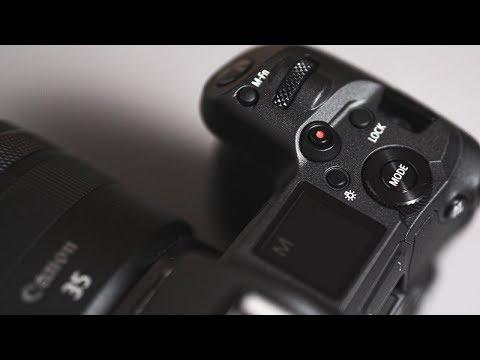Cichy unboxing Canon EOS R / ASMR