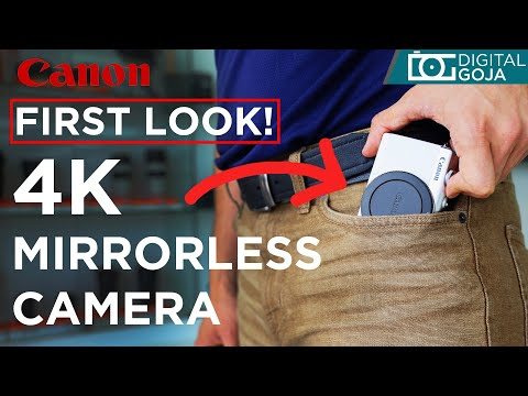 Canon M200 First Look | Canon EOS M100 Improved?