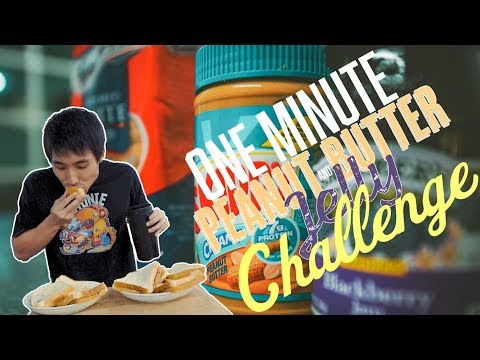 Peanut Butter & Jam World Record Challenge!   Zermatt Neo vs Matt Stonie