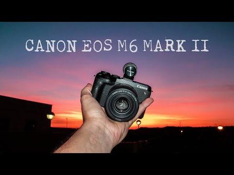 Canon EOS M6 Mark II – Así es la nueva sin espejo APS-C de Canon