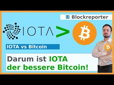 Ist IOTA der bessere Bitcoin? | Blockreporter deutsch kryptowährung