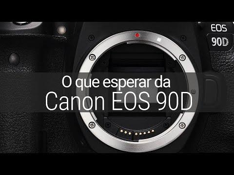 O que esperar da Canon EOS 90D? Vale o upgrade?