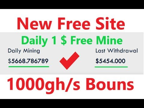New Free Bitcoin Cloud Mining Site 2019 | 1000GHS 10$ Free Bouns | New Free Bitcoin Mining Site 2019