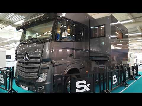 TRAVEL 4K presents : Camping car Mercedes Motorhome STX actros 2651  2020 in 4K Ultra HD