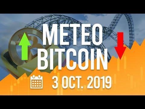 La Météo Bitcoin FR – Jeudi 3 octobre 2019 – Crypto Fanta