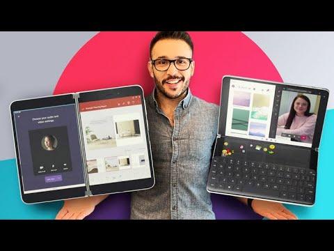 Surface Neo y Surface Duo: Tableta Windows y celular Android con doble pantalla