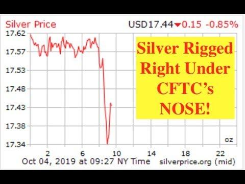 Silver/Gold Slammed by Riggers as Bitcoin Readies for 2x October Move?! (Bix Weir)