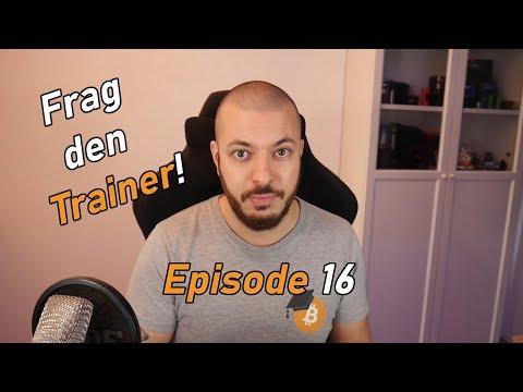 Frag den Trainer! Episode 16 | Paper Wallet, Steemit und vieles mehr!