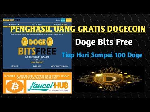 Penghasil Uang Gratis Dengan DogeBitsFree, Bisa Untuk Depo Mining Doge