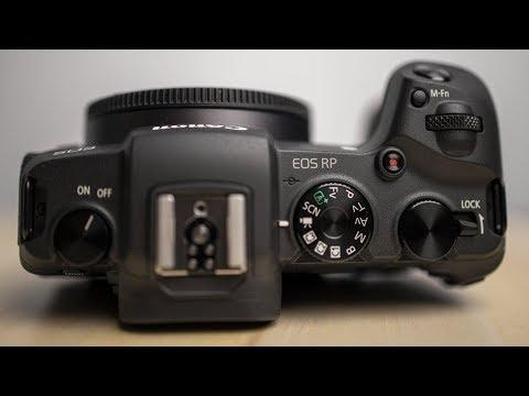 أصغر وأخف كاميرا ميرورليس من كانون بأفضل أوتوفوكس للعين Canon EOS RP New Firmware Full Review