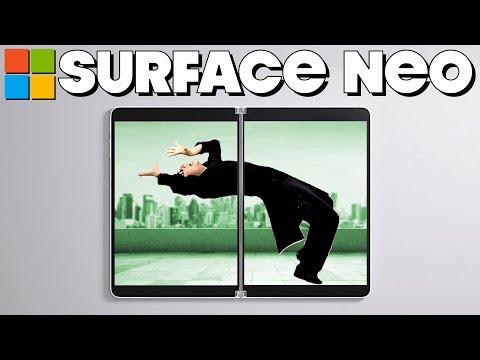 "Surface Neo PARODY – ""Microsoft Matrix"""
