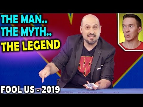 Magician REACTS to Woody Aragon AMAZING Card Magic on Penn and Teller FOOL US 2019
