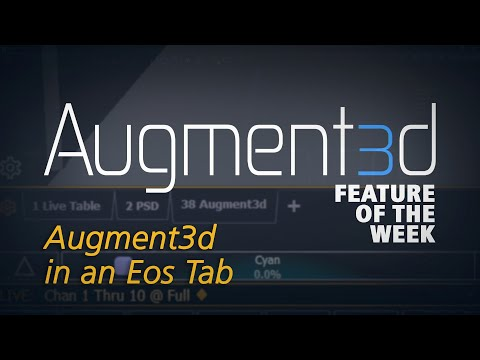 Augment3d Feature of the Week: Augment3d in an Eos Tab
