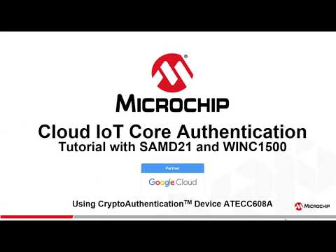 Google IoT Core Secure Authentication – Getting started