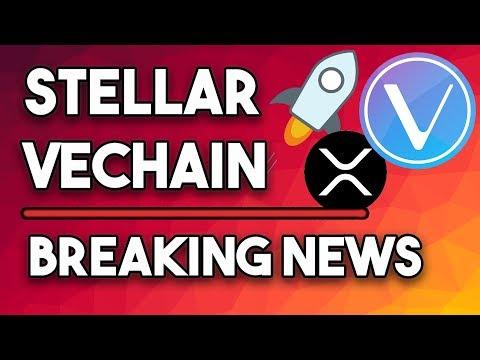XRP vs XLM, Stellar Lumens 'Breaking News' & Vechain VET Best Long Term Crypto?!