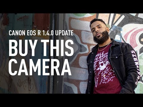 Canon EOS R 1.4.0 Firmware Update