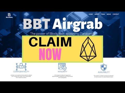 Claim Blockbase Token (BBT) Airgrab for EOS Accounts