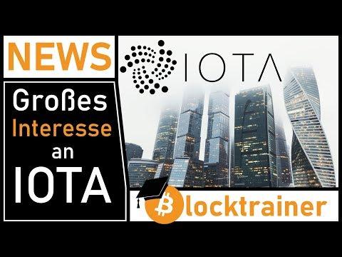 Großes Interesse an IOTA… aber kein blinder Hype!