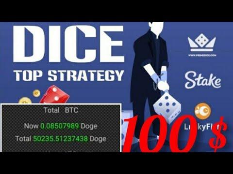 Earn Money 100$ Win Big Epic 50000 Dogecoin Mining Bitcoin 999Dice Crypto Casino