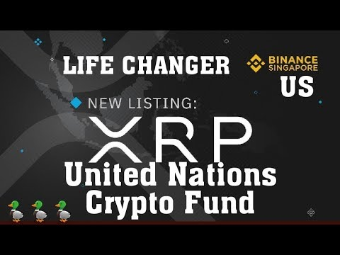#XRP United Nations Crypto Fund. Ripple PNC Finastra 2.1 Billion #ODL RTP GAMECHANGER