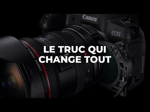 Canon EOS R : Le TRUC qui CHANGE TOUT en vidéo (Bague Drop-in ND)
