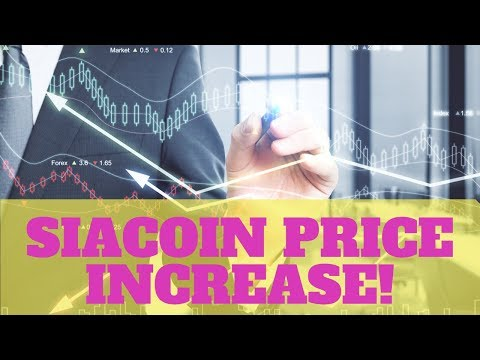 Siacoin Price About To Increase?