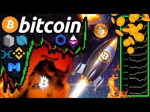 BITCOIN EXPLODES!!! Why ALTCOINS WILL SKY-ROCKET!!! 200 DMA STILL Resistance…