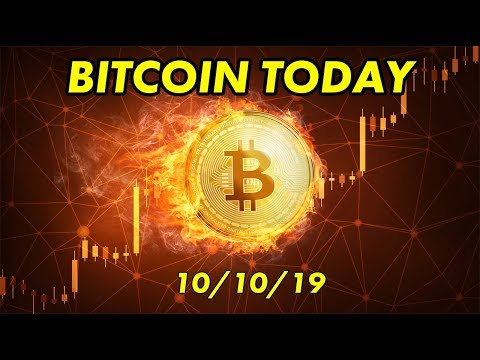 Bitcoin Today and Cryptocurrency News – 10/10/19