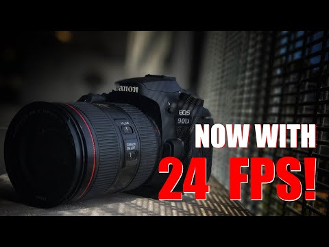 Canon EOS  90D now with 24FPS! – Full REVIEW