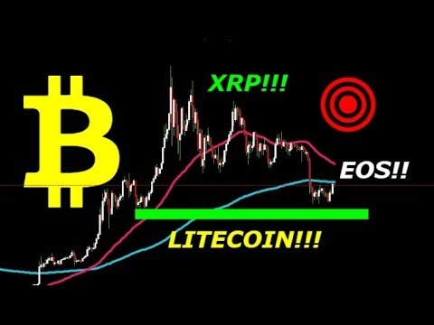 🔥BITCOIN/ LITECOIN/ XRP/ EOS UPDATE‼ CRITICAL AREAS UPON US!! MY THOUGHTS!!