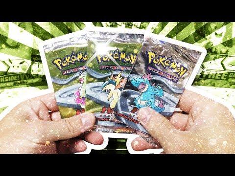 Opening 3x Unweighed 1ST EDITION Neo Genesis Pokemon Packs !!!