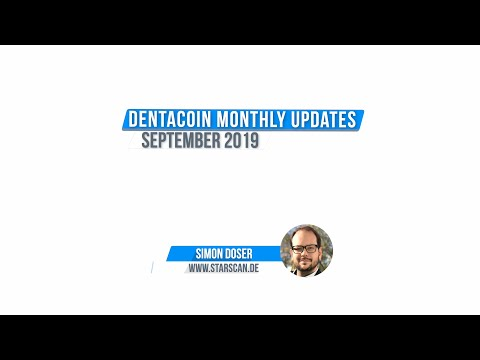 Dentacoin A Month in Review: September, 2019
