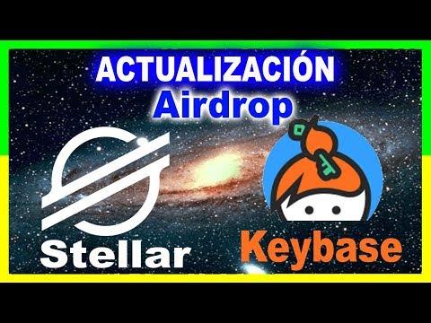 🔥 ACTUALIZACIÓN Airdrop Stellar lumens y keybase
