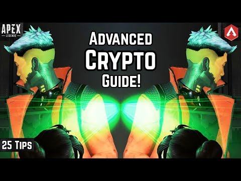 25 Pro Tips Advanced CRYPTO ABILITIES Guide! Pt.1 Everything You Need To Know! Apex Legends