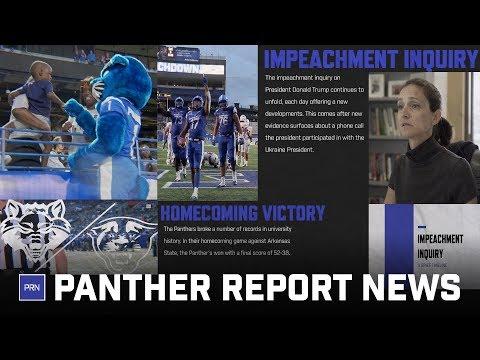 Presidential impeachment inquiry and GSU Football break records: PRN S3E7