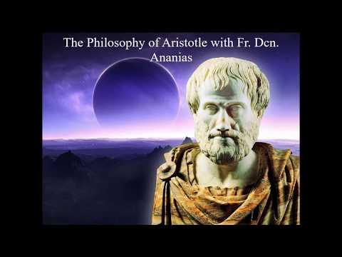 Fr.  Dcn.  Ananias on Aristotle