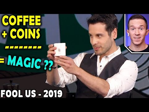 Magician REACTS to Alfonso Rituerto COIN Magic on Penn and Teller FOOL US 2019